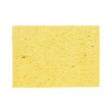10X Soldering Iron Solder Tip Welding Cleaning Sponge Yellow sT
