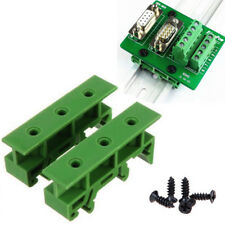 PCB Din C45 Rail Adapter Circuit Board Mounting Bracket Holder Steady 35mm New