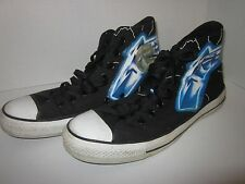 Converse Metallica Ride the Lightning Size 8 adult High Tops Canvas used Chucks
