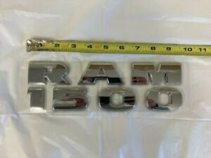 OEM 2014-2020 Dodge Ram Promaster 1500 Chrome Door Nameplate Emblem Badge Decal