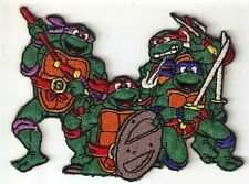 Teenage Mutant Ninja Turtles Leonardo Raphael Michelangelo Donatello Embr, Patch