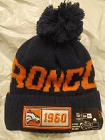 Denver Broncos Cap Hat Football NFL New Era Beanie