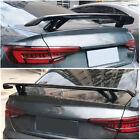 For Audi A5 A6 A7 S7 Tt Mk2 8j Tts Carbon Fiber Rear Trunk Lip Spoiler Wing Cf