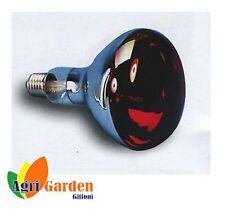 LAMPADA A RAGGI INFRAROSSI  PER RISCALDARE PULCINI E SUINETTI + MM. 125 - W 150