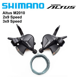 SHIMANO ALTUS SL-M2010 Shifter Set 2x9/3x9 Speed MTB Bike Shifters Lever M2000