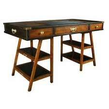 Authentic Models Navigator's Desk, Black - MF022