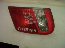 Saab 9-3 93 Trasero Lámpara de luz de arranque Unidad 03 - 2007 12785764 12777310 4D Derecho Mano