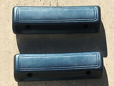 "Mopar Dodge Plymouth B C Body Dark Blue (320) 65/68 9 1/2"" Arm Rest Pads NEW"
