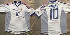Maillot France Zinedine ZIDANE Coupe du Monde 2002 Real Madrid Juventus Bordeaux