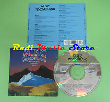 CD MIKE OLDFIELD Music wonderland 1985 holland 0777 7 86943 2 8(Xs5)no mc lp dvd