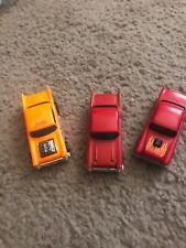 Vintage Hot Wheels Die Cast 57 Chevy's & 55 Chevy's Malaysia & Hong Kong Lot 3