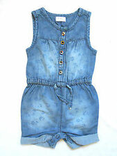 Denim Girls' Babygrows and Playsuits 0-24 Months