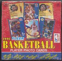 1991-92 Fleer Basketball Jumbo Box