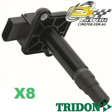 TRIDON IGNITION COIL x8 FOR Audi  A6 Incl RS6 01/99-10/04, V8, 4.2L