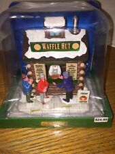 Lemax Waffle Hut Building Christmas Village - Free Shipping