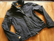 Womens Superdry Windcheater Japan Jacket Navy Blue Size 10 see details