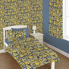 "DESPICABLE ME MINIONS 66"" x 54"" CURTAINS NEW matches duvet"