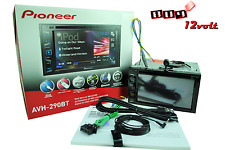 "Pioneer AVH-290BT 6.2""  Bluetooth DVD + FREE VIDEO BYPASS + BACK UP HD CAMERA"