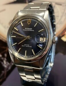 Tudor Prince Oysterdate Blue Dial  Automatic Quick set Ref 9050/0