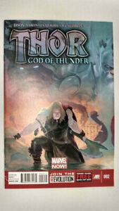 THOR: GOD OF THUNDER #2  1st Printing - Marvel NOW!         / 2013 Marvel Comics