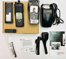 Motorola XTS5000 450-520 MHz UHF Radio H18SDF9PW6AN with Charger,Carry Case,
