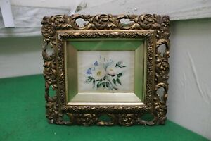 Early 19th Century Floral Watercolour Painting Signed MAC, 1830