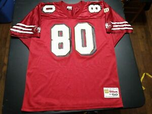 VERY RARE Wilson Authentic San Francisco 49ers Jerry Rice Jersey 80 Size 50 XL