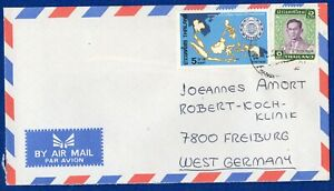 THAILAND - COVER WITH 2 STAMP FOR GERMANY