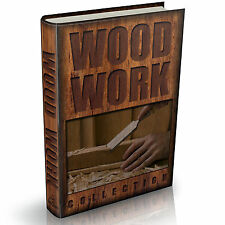 Woodwork Library 187 Vintage Wood work Books on DVD Carpentry Turning Design
