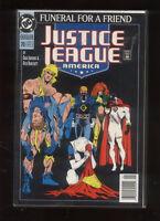 Justice League America 70 Newsstand NM (1987) Dc Comics CBX15