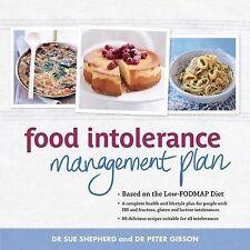 Food Intolerance Management Plan - Sue Shepherd, Peter Gibson - Fodmap, etc