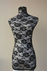 Handmade Lace Top Material Cover for Female Mannequin Dress Model Dummy H003