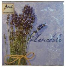 TOVAGLIOLI O TOVAGLIOLI, 3 pieghe carta, LAVANDULA Design (20) 15.2cmx15.2cm