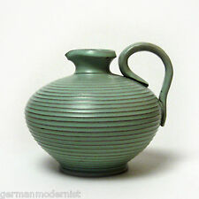 Eckhardt & Engler | Art Deco Rillendekor Krug | Model 103/13 | German Pottery