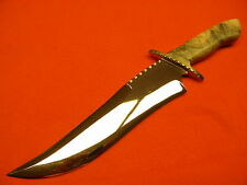 """CUSTOM J.R. STAG FIGHTER BOWIE KNIFE """"NEW"""""""