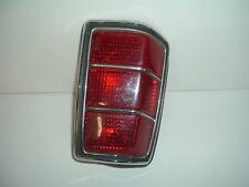 1993 Mazda Tail Light Housing, Lens, Chrome Trim Ring, Plug & Gasket
