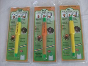TICK LASSO BEST Tick Remover for Dogs Cats Children Horses Trix Tick Remover