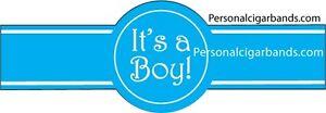 It's a Boy cigar labels, birth announcements 25/$12.50