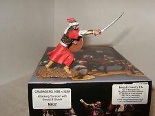 King and country MK37 attaquant saracen avec épée et bouclier en échelle 1:30.