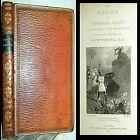 1821 POEMS THOMAS GRAY LEATHER WESTALL ILLUS ODIN NORSE ELEGY CHURCHYARD POETRY