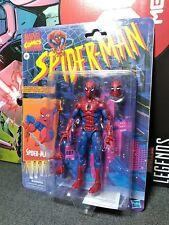 Marvel Legends spiderman animated series retro vintage card