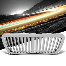 Chrome Vertical Style Replacement Grille For Ford 04-05 Ranger 2.3L/3.0L/4.0L