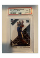 2019-20 Clearly Donruss Zion Williamson The Rookies PSA 10 Rookie RC SP POP 14