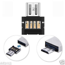 Mini USB 2.0 Stick Card Micro Power USB OTG Converter Adapter Cellphone TO US