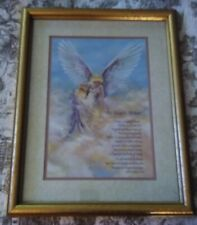 """Homco Beautiful Uplifting """"On Angel's Wings"""" Picture ~ Allison Chambers Coxsey"""