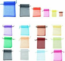 LUXURY Organza Gift Bags Jewellery Pouches XMAS Wedding Party Candy Favour party