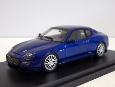 BBR MODELS MASERATI GRAN SPORT 2004 BLUE MEDITERRANEO 1:43, NEW IN BOX