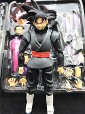 Dragonball Z S.H.Figuarts Goku Gokou Black Super Saiyan Rose Action Figure NIB
