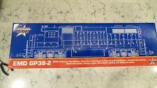"New ListingNew Usa Trains G Scale Gp38-2 Conrail Diesel ""Mint"" Never Ran #R22208"
