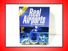 REAL AIRPORTS EXP PER FLIGHT SIMULATOR 2000  PER PC USATO SICURO